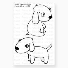 Picket Fence Studios - Puppy Love - Clear Stamps 2x3