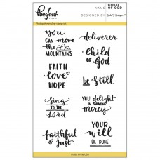 Pinkfresh Studio - Child Of God 4x6 Clear Stamp Set