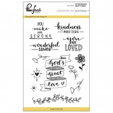Pinkfresh Studio - Kindness Matters - Clear Stamp Set 4x6