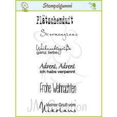 JM Creation - Plätzchenduft - Cling Stamp