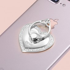 Popsocket - Diamantherz - Silber