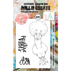 AALL & Create - A7 Stamps - Positive Vibes