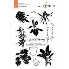Altenew - Potted Plants - Clear Stamp 6x8
