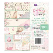 Prima Marketing - Cardstock 6x6 - Dulce