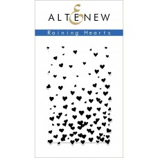 Altenew - Raining Hearts - Clear Stamps 2x3