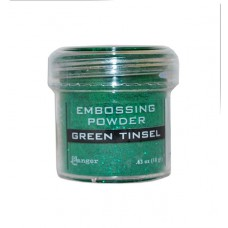 Ranger - Embossing Powder - Green Tinsel