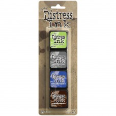 Ranger - Distress Ink by Tim Holtz - Mini Ink Kit 14