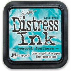 Ranger - Distress Ink by Tim Holtz - Peacock Feathers