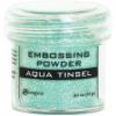 Ranger - Embossing Powder - Aqua Tinsel