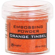 Ranger - Embossing Powder - Orange Tinsel