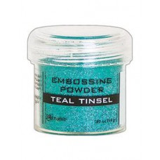 Ranger - Embossing Powder - Teal Tinsel