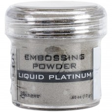 Ranger - Embossing Powder 1oz (16gr) - Liquid Platinum