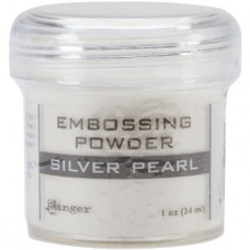 Ranger - Embossing Powder 1oz (16gr) - Silver Pearl