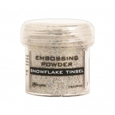Ranger - Embossing Powder 1oz (16gr) - Snowflake Tinsel