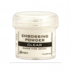 Ranger - Embossing Powder 1oz (16gr) - Super Fine Clear