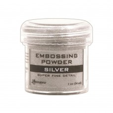 Ranger - Embossing Powder 1oz (16gr) - Super Fine Silver