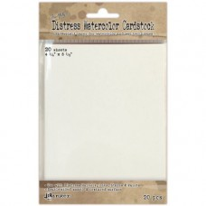 Ranger Distress Watercolor Cardstock 20/Pkg