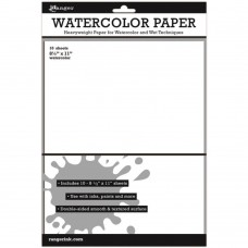 "Ranger Watercolor Paper 8.5""x11"" 10/Pkg"