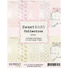 Reprint - Sweet Baby Collection - Pink - 6x6 Inch Paper Pack