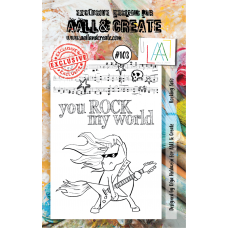 AALL & Create - A7 Stamps - Rocking Solo