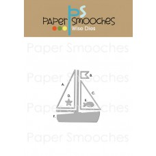 "Paper Smooches Stanz-Set ""Sailboat"""