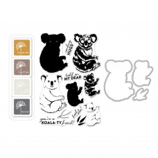Hero Arts - Color Layering Koala - Bundle