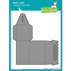 Lawn Fawn - Scalloped Treat Box - Cuts