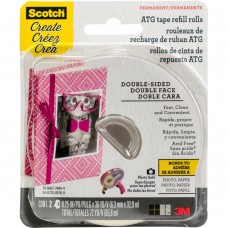 Scotch Advanced Tape Glider Acid-Free Refills 2/Pkg