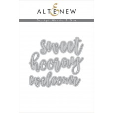 Altenew - Script Words 3 - Stanze
