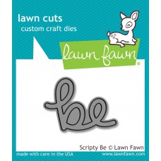 Lawn Fawn - Scripty Be - Cuts