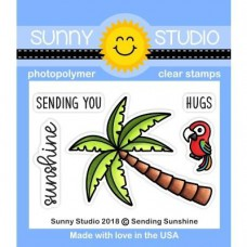 Sunny Studio - Sending Sunshine - Clear Stamps 2x3