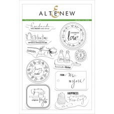 Altenew - Sewing Labels - Clear Stamps 6x8