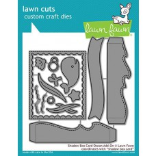 Lawn Fawn - Shadow Box Card Ocean Add-On - Stanzen