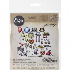 Sizzix Framelits Dies By Tim Holtz - Crazy Things