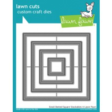 Lawn Fawn - Small Dotted Square Stackables - Cuts