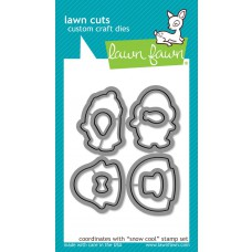 Lawn Fawn - Snow Cool - Cuts