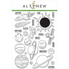 Altenew - Space Travel - Clear Stamps 6x8