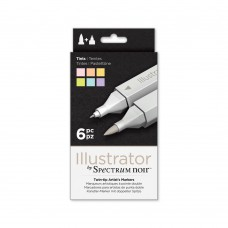 Spectrum Noir Illustrator 6pk - Tints