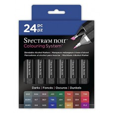 Spectrum Noir - Alcohol Markers 24pk - Darks