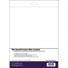 Spectrum Noir Ultra Smooth Premium Cardstock 8.5x11 50Pkg