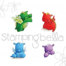 Stamping Bella - Set Of Dragons - Cling Stamp