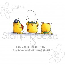 Stamping Bella - Sweaty Chicks (Rubberstamp)