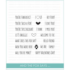 Studio Katia - And the Fox Says... - Clear Stamp