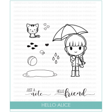 Studio Katia - Hello Alice - Clear Stamp