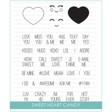 Studio Katia - Sweet Heart Candy - Clear Stamp