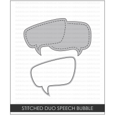 Studio Katia - Stitched Duo Speech Bubble  - Stanze