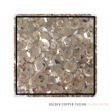 Studio Katia - Sequin Fusion - Golden Copper