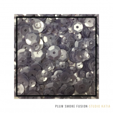 Studio Katia - Sequin Fusion - Plum Smoke
