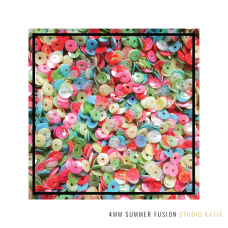 Studio Katia - Sequin Fusion - Summer 4MM