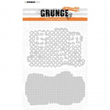 Studio Light Grunge Collection Cutting & Embossing Die - 150